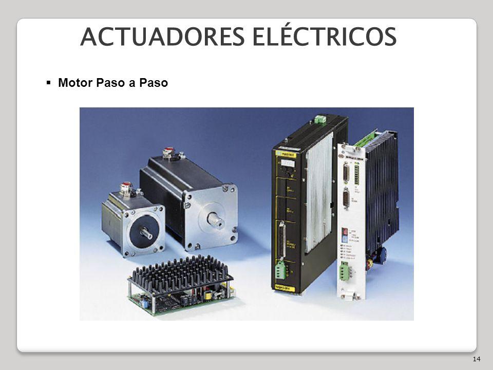 14 ACTUADORES ELÉCTRICOS Motor Paso a Paso