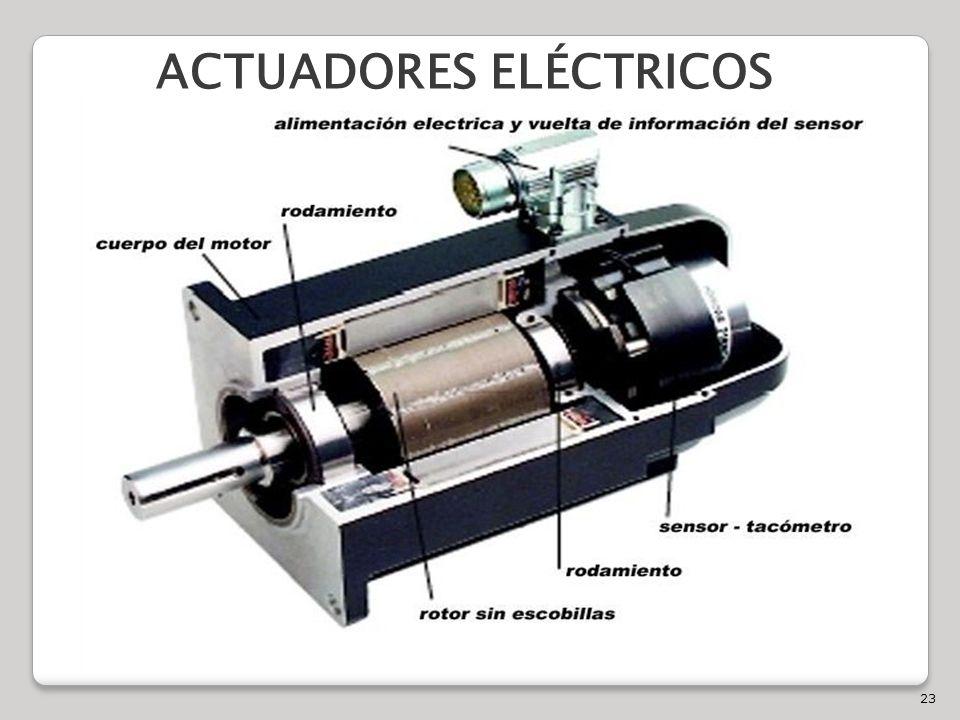 23 ACTUADORES ELÉCTRICOS