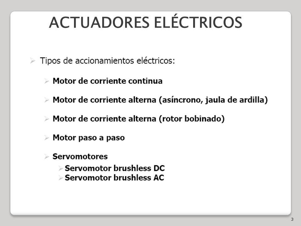 3 ACTUADORES ELÉCTRICOS