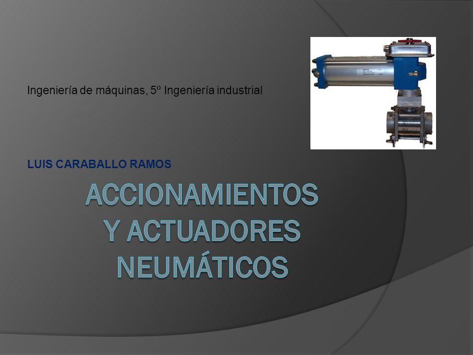 Ingeniería de máquinas, 5º Ingeniería industrial LUIS CARABALLO RAMOS