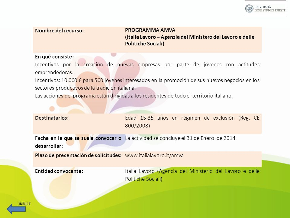 Nombre del recurso: REGIONE FRIULI VENEZIA GIULIA Reglamento de ejecución de los artículos.