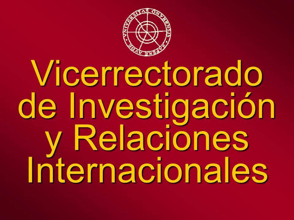Vicerrectorado de Investigación y Relaciones Internacionales