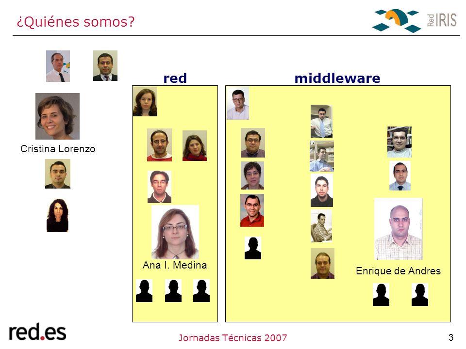 3Jornadas Técnicas 2007 ¿Quiénes somos. Cristina Lorenzo Ana I.