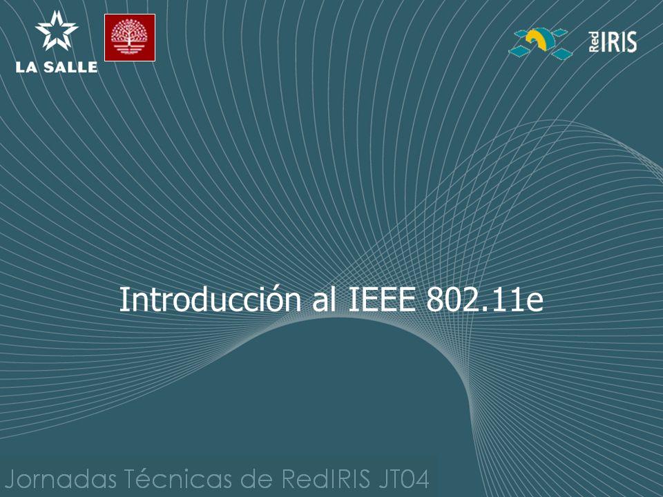 Introducción al IEEE 802.11e