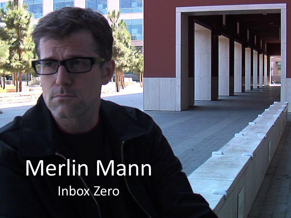 Merlin Mann Inbox Zero