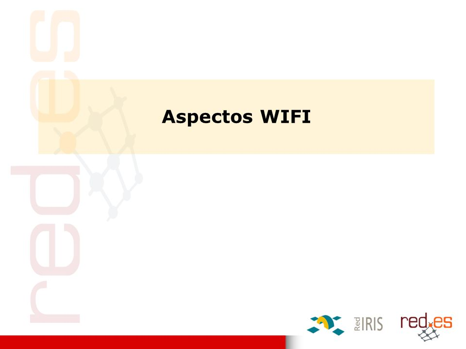 Aspectos WIFI
