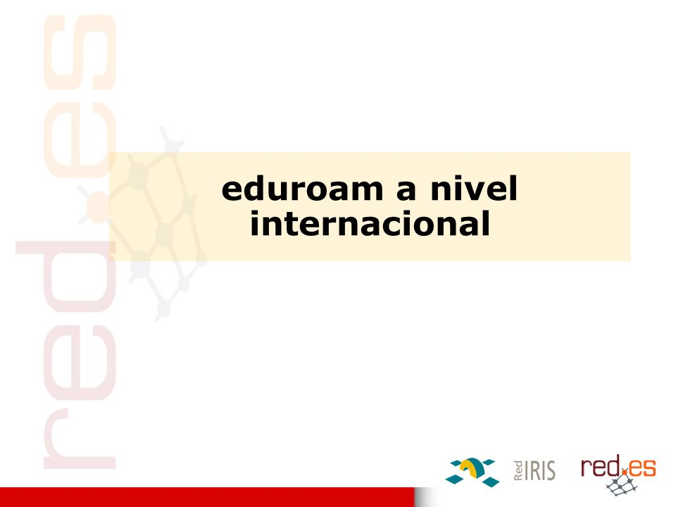 eduroam internacional Bulgaria Croatia Czech Republic Denmark Finland Germany Greece Italy Latvia Luxembourg the Netherlands Norway Poland Portugal Slovenia Spain UK