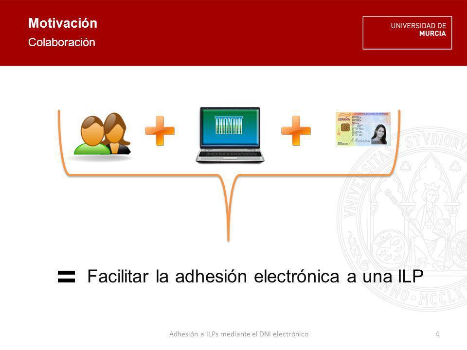 Motivación Sistema de recogida de firmas electrónicas para el respaldo de ILPs.