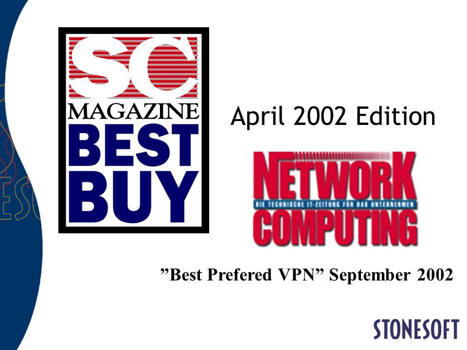 April 2002 Edition Best Prefered VPN September 2002
