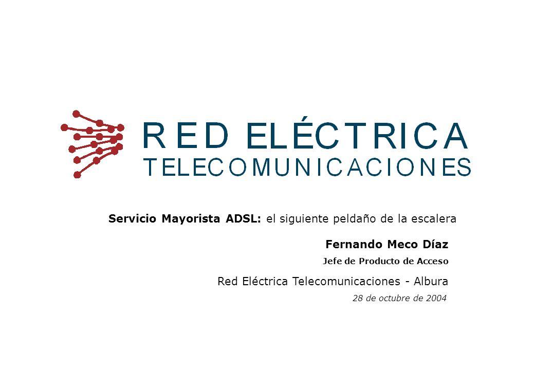 Pág.12 Red Eléctrica Telecomunicaciones.