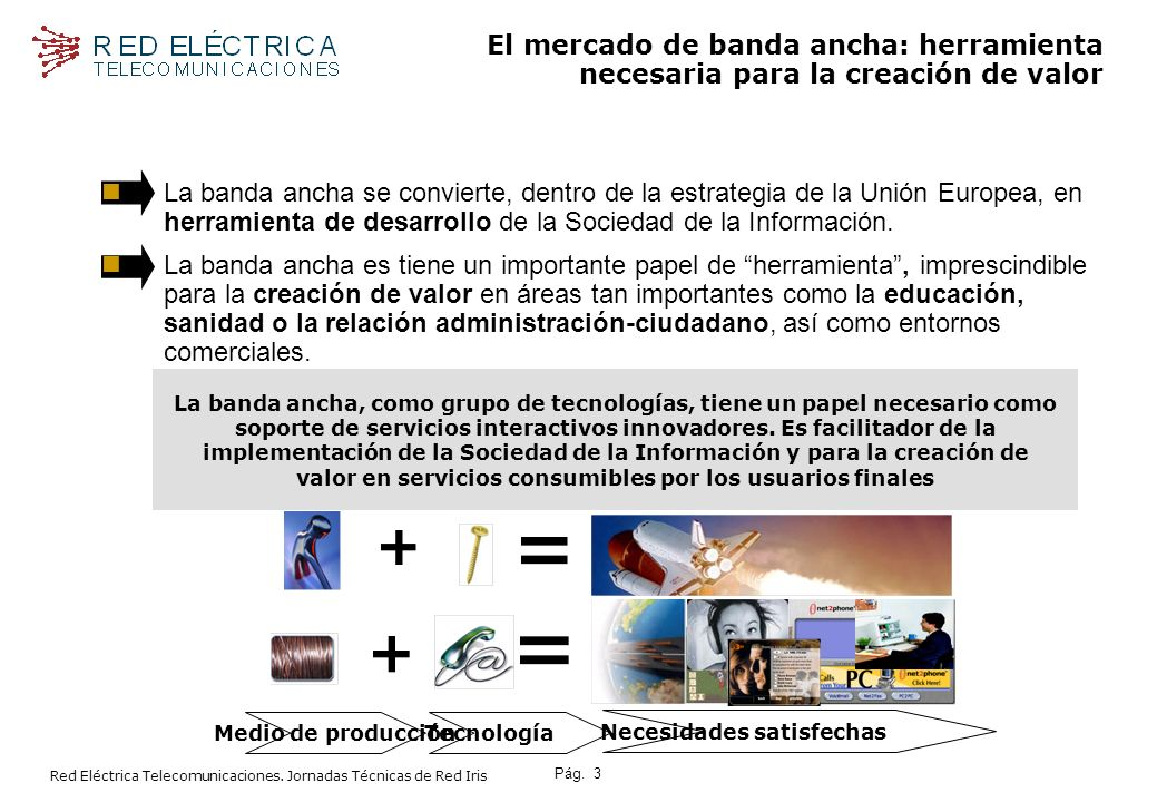 Pág.4 Red Eléctrica Telecomunicaciones.