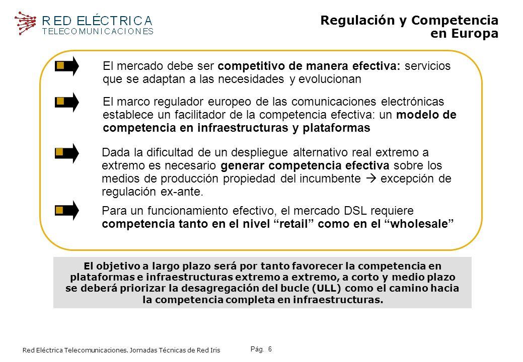 Pág.7 Red Eléctrica Telecomunicaciones.