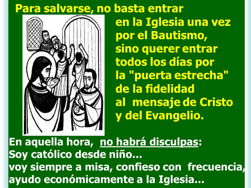 Jesús utiliza con frecuencia la imagen del banquete. Es una forma de explicar que el Reino es plenitud, fiesta, alegría, acogida, solidaridad, fratern