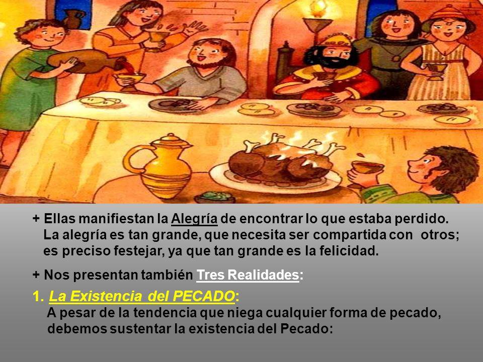 En el Evangelio : Jesús habla de la MISERICORDIA de Dios para con los Pecadores: (Lc 15,1-32) - En la Introducción, los fariseos critican a Cristo por