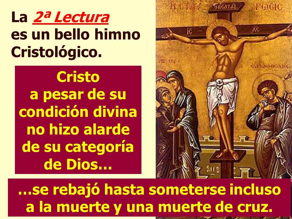 1ª lectura. Los cristianos vieron en estesiervo sufriente