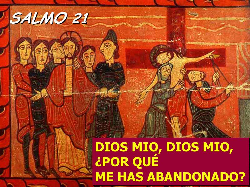 SALMO 21 DIOS MIO, DIOS MIO, ¿POR QUÉ ME HAS ABANDONADO?