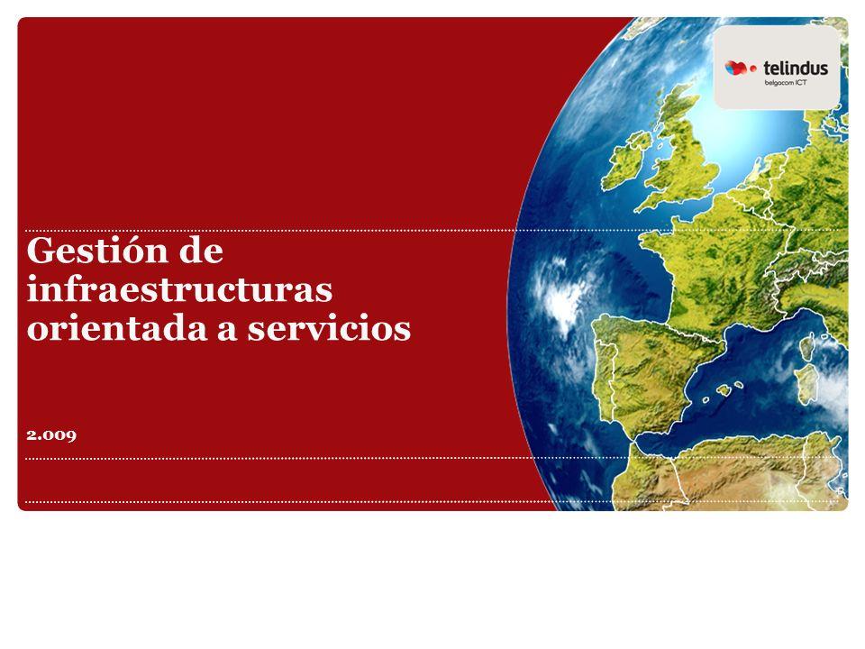 Gestión de infraestructuras orientada a servicios 2.009