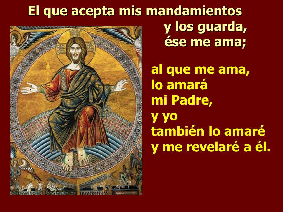 Entonces sabréis que yo estoy con mi Padre, vosotros conmigo y yo con vosotros.