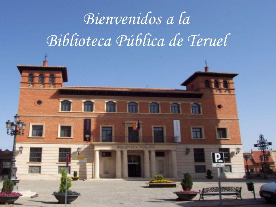 La Biblioteca Pública de Teruel se encuentra en pleno centro histórico de la ciudad, en concreto en la Plaza Pérez Prado, nº3