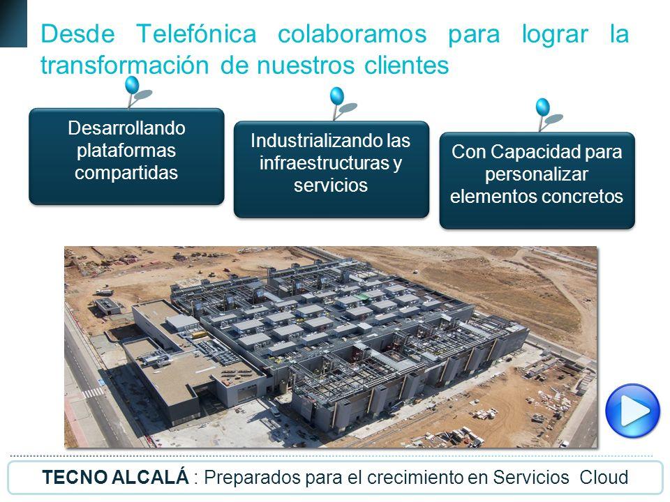 25 Telefónica España Empresas Grandes Proyectos Outsourcing Desde Telefónica colaboramos para lograr la transformación de nuestros clientes Desarrolla