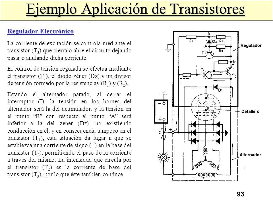 92 El transistor Darlington, en su aspecto externo, no difiere mucho de un transistor normal ya que posee los tres electrodos: emisor, colector y base