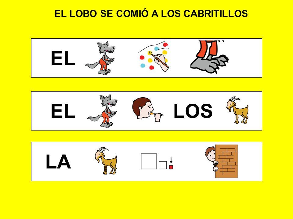 LOS CABRITILLOS SON 7 LOS EL LA