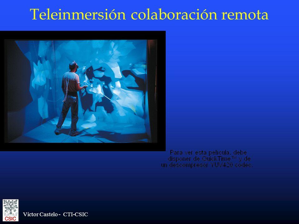 Víctor Castelo - CTI-CSIC Teleinmersión colaboración remota