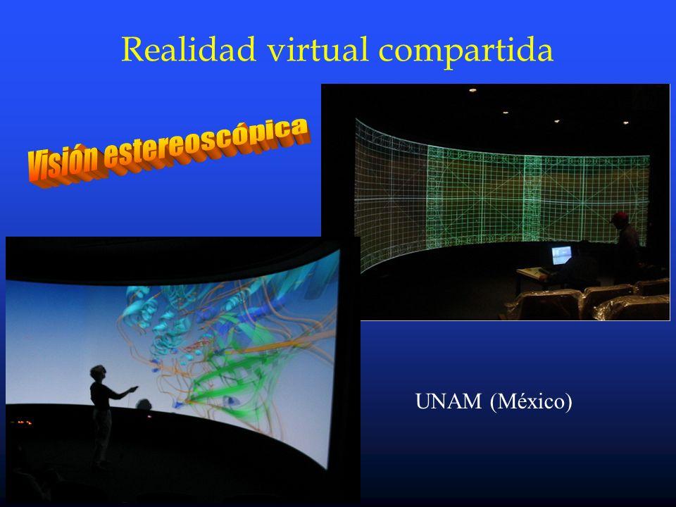 Víctor Castelo - CTI-CSIC Realidad virtual compartida UNAM (México)