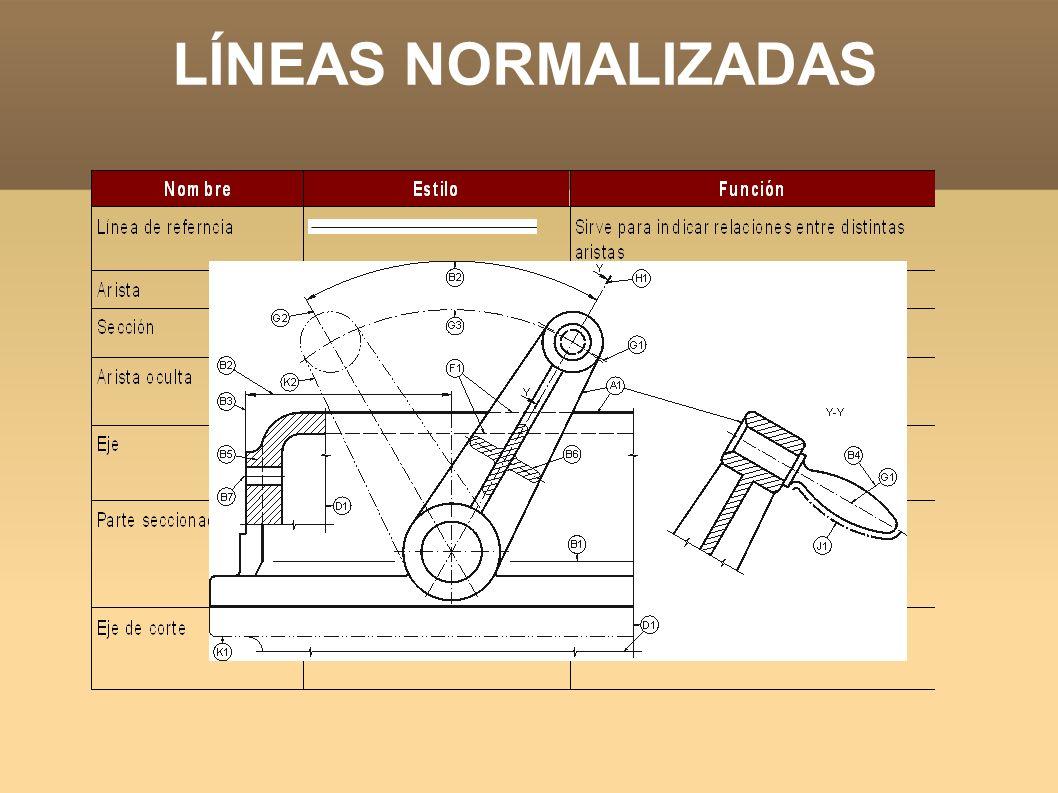LÍNEAS NORMALIZADAS