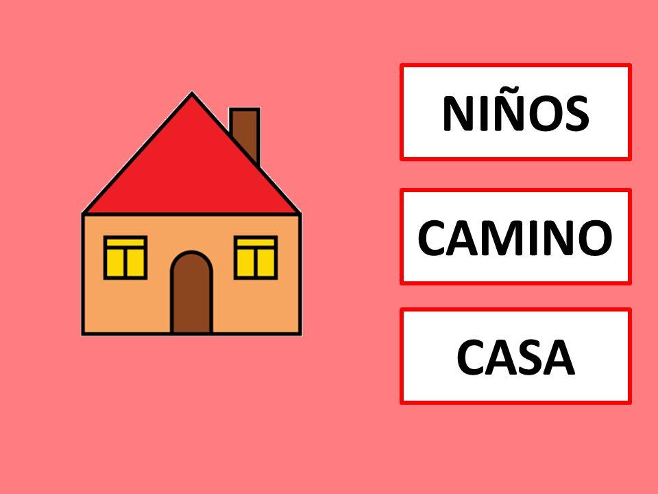 Y LOS NIÑOS SALIERON DE SU CASA Y FUERON A BUSCAR LEÑA AL BOSQUE LA