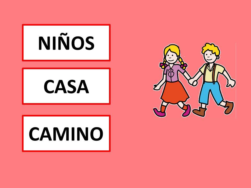 NIÑOS CAMINO CASA