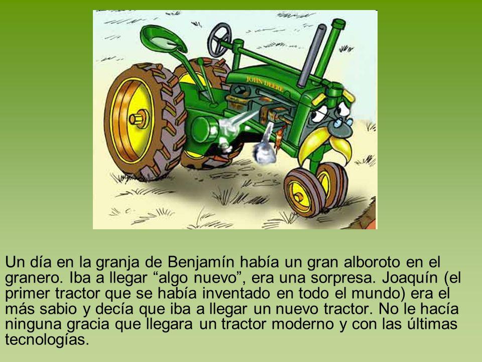 Jerry decía que como se estaba cultivando iba a ser una sembradora de última generación ¡Con siembra directa.