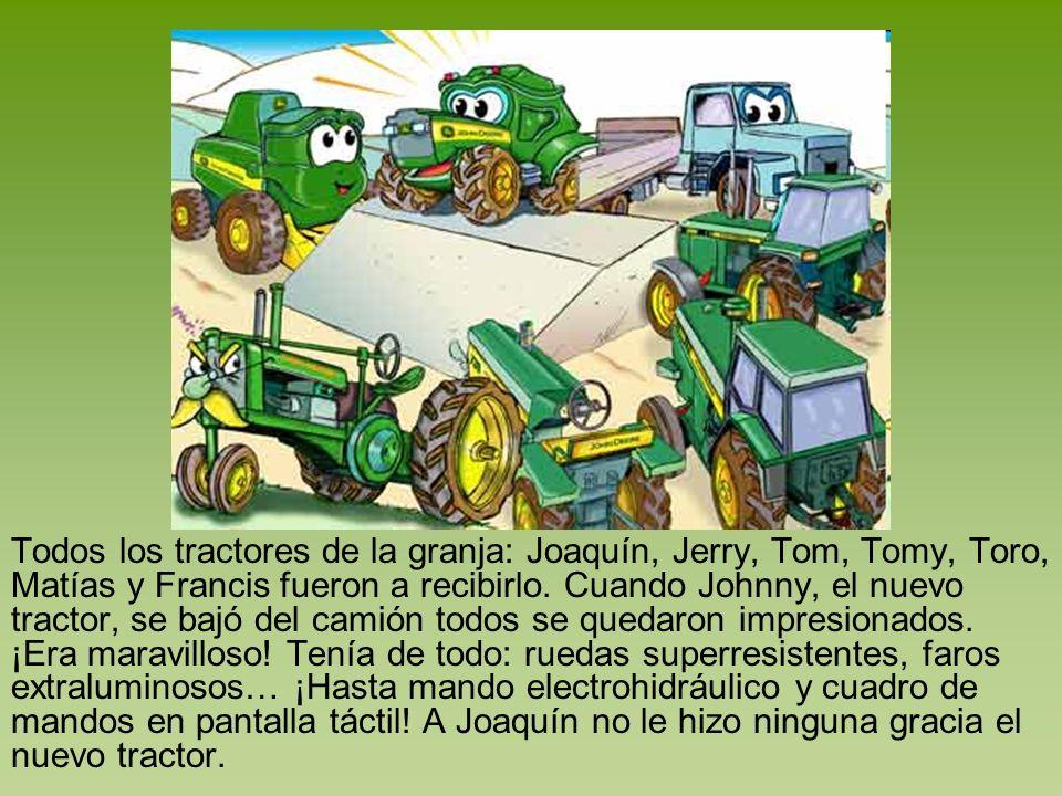 Una noche de tormenta, truenos y rayos Joaquín salió a trabajar con el arado.
