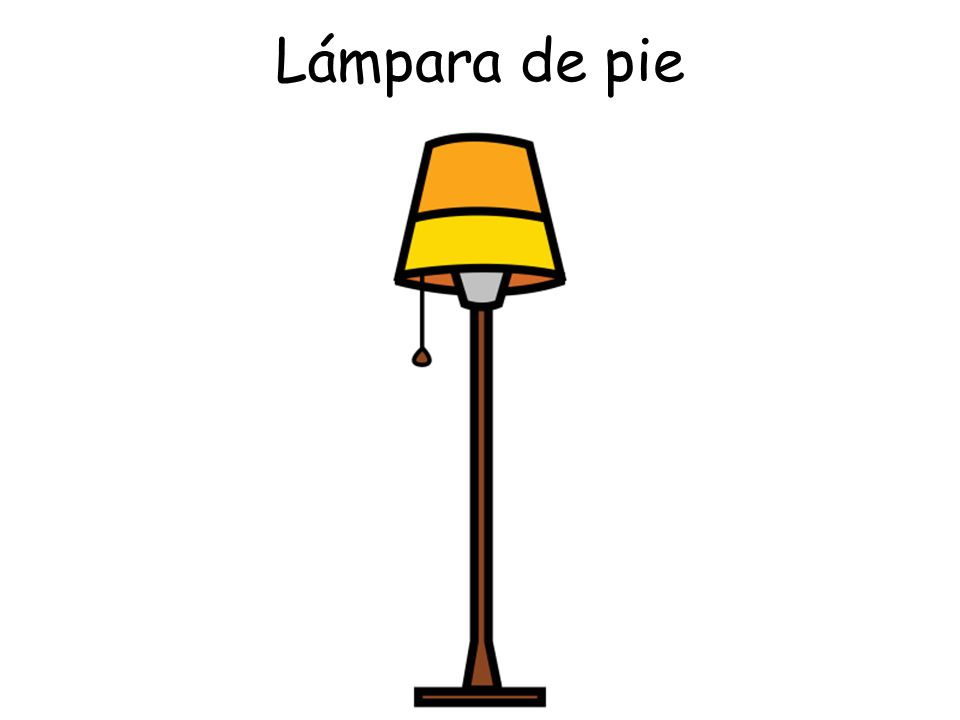 Lámpara de pie