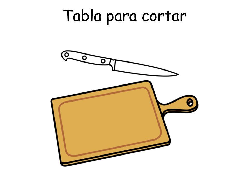 Tabla para cortar