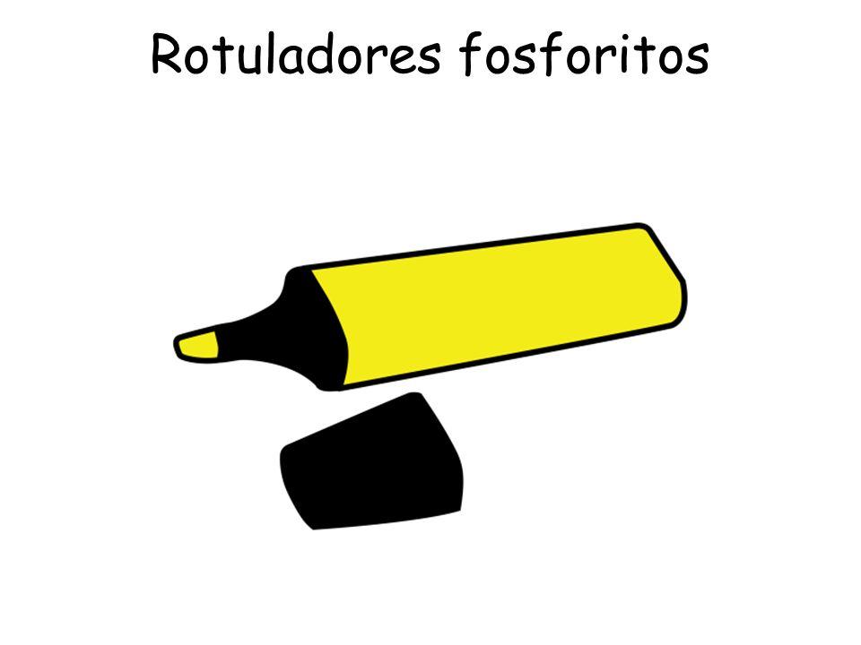 Rotuladores fosforitos