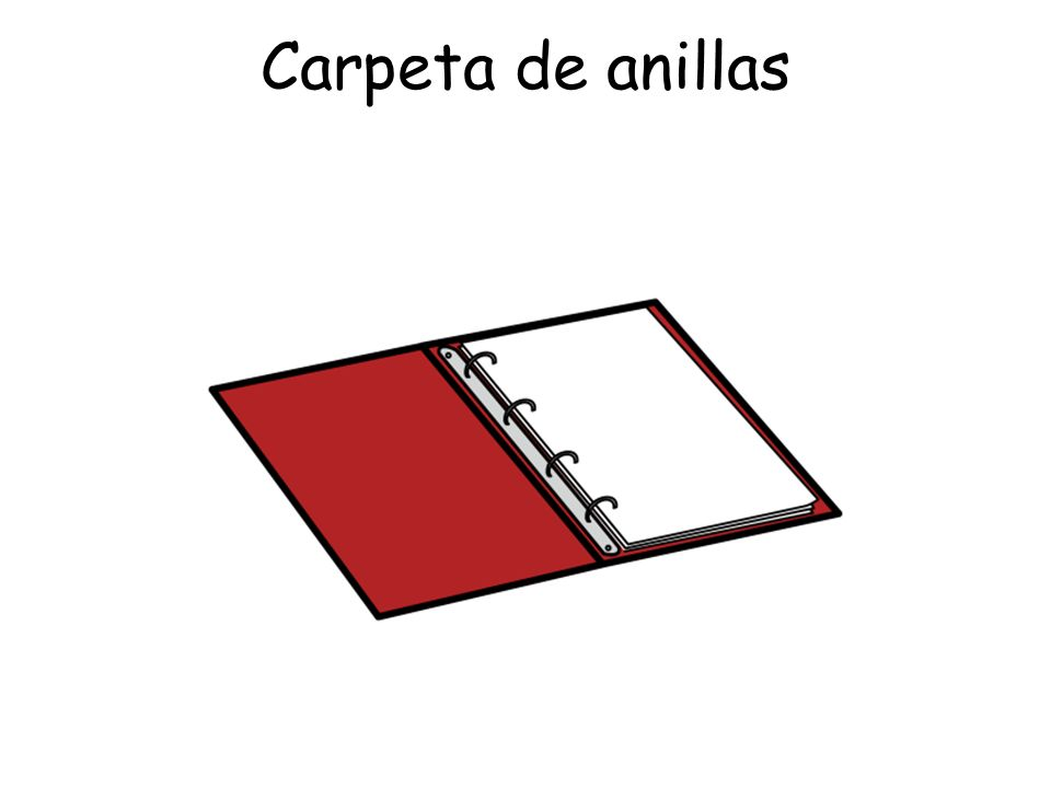 Carpeta de anillas