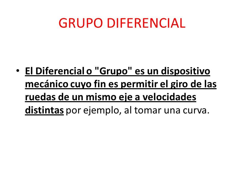 GRUPO DIFERENCIAL El Diferencial o