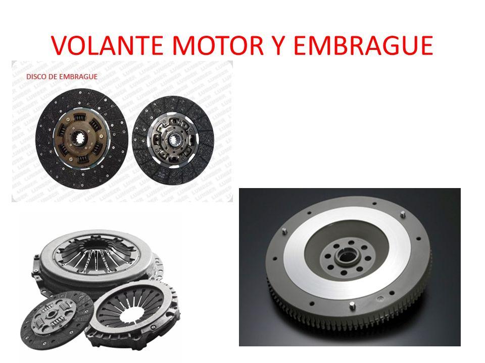 VOLANTE MOTOR Y EMBRAGUE