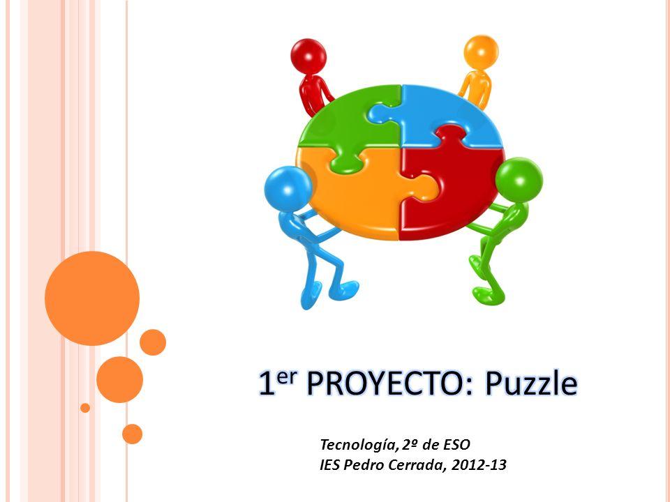 Tecnología, 2º de ESO IES Pedro Cerrada, 2012-13