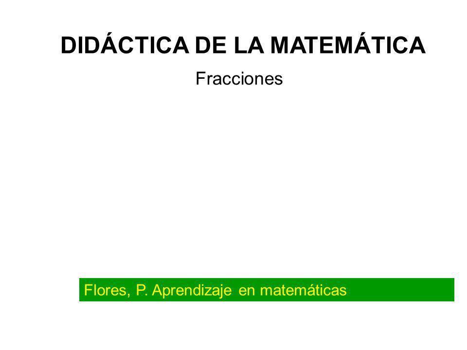 Anexo 2: Materiales y recursos para la enseñanza de las Fracciones ¿Qué herramientas existen para enseñar las fracciones.
