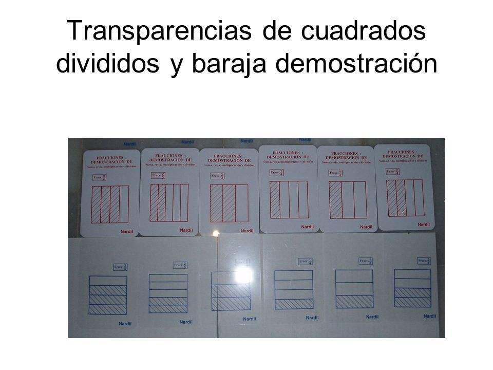 Materiales y recursos para ejercitarse DOMINÓS DE FRACCIONES: - Equivalencias - Formas de representación -Operaciones: