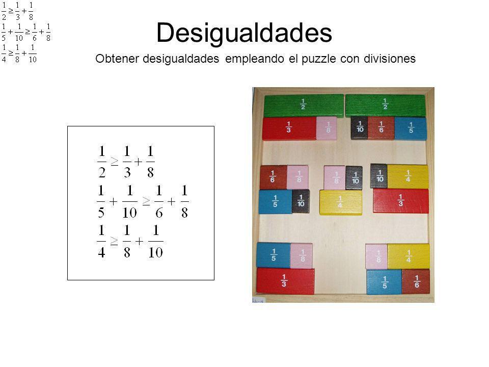 Materiales y recursos para comprender DIAGRAMA DE FREUDENTHAL: - Obtener Equivalencias - Ordenar fracciones - Buscar relaciones y obtener resultados de Operaciones: -Mitad de ½ -Doble de 1/6 -1/2 +1/4