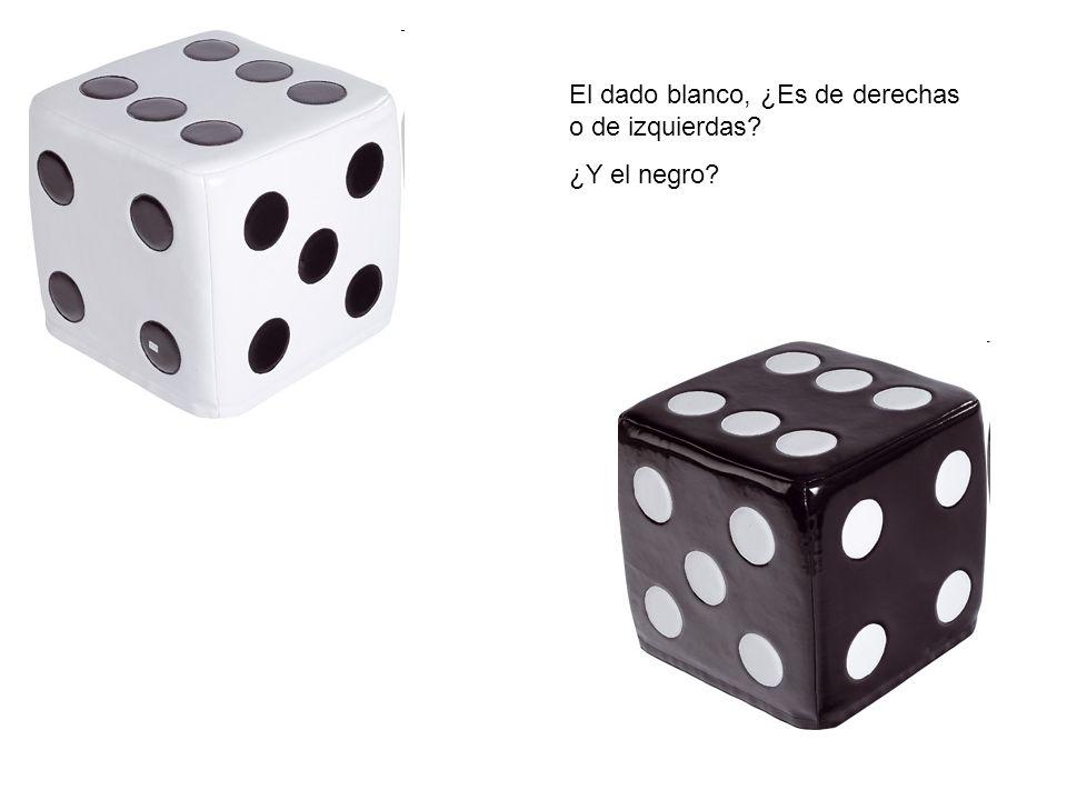 El dado blanco, ¿Es de derechas o de izquierdas? ¿Y el negro?