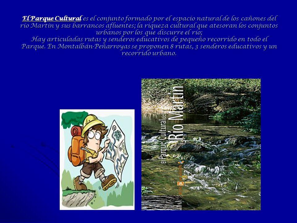 El Parque Cultural es el conjunto formado por el espacio natural de los cañones del río Martín y sus barrancos afluentes; la riqueza cultural que ates