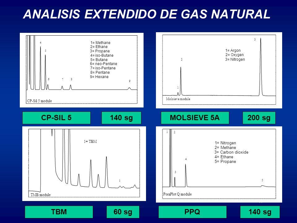 ANALISIS EXTENDIDO DE GAS NATURAL Seconds 30405060708090100110120130140 Volts -0.05 0.00 0.05 0.10 0.15 0.20 0.25 0.30 Volts -0.05 0.00 0.05 0.10 0.15