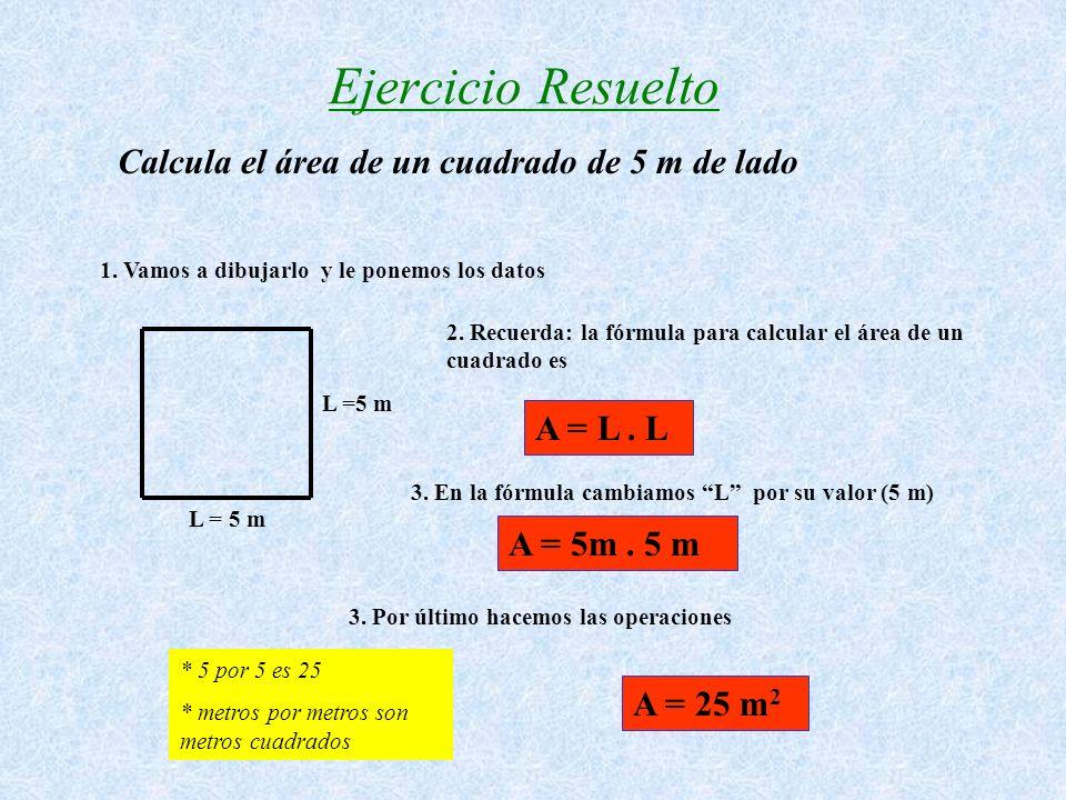 Cuadrado Polígono regular con: *cuatro lados iguales, paralelos dos a dos, y cuatro ángulos rectos Vamos a dibujarlo Vértice Lado ( L ) Cada uno de lo