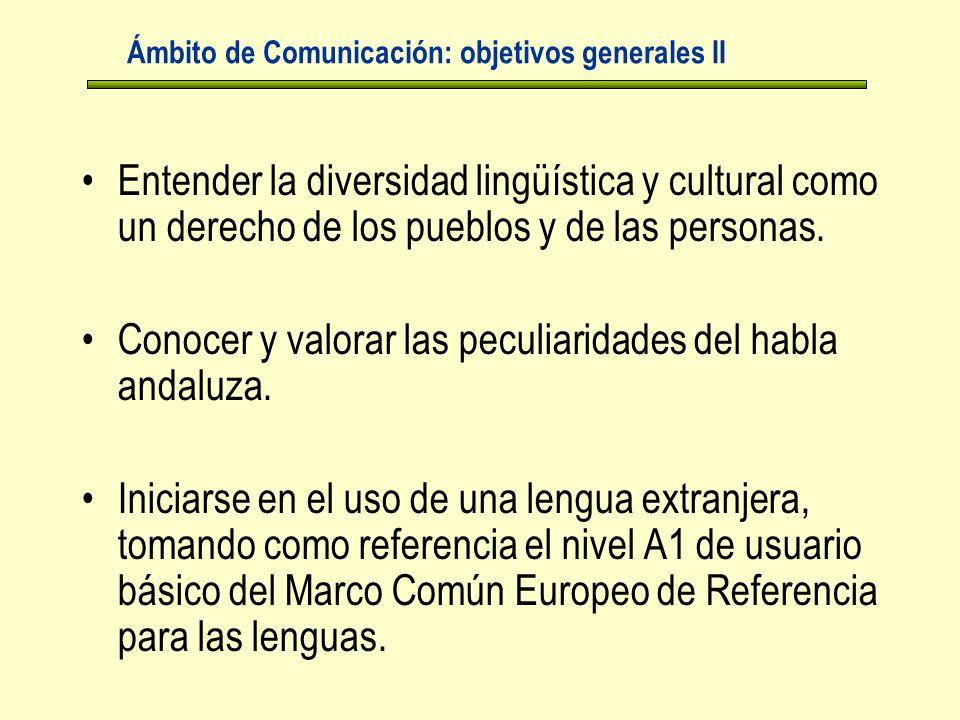 Entender la diversidad lingüística y cultural como un derecho de los pueblos y de las personas.
