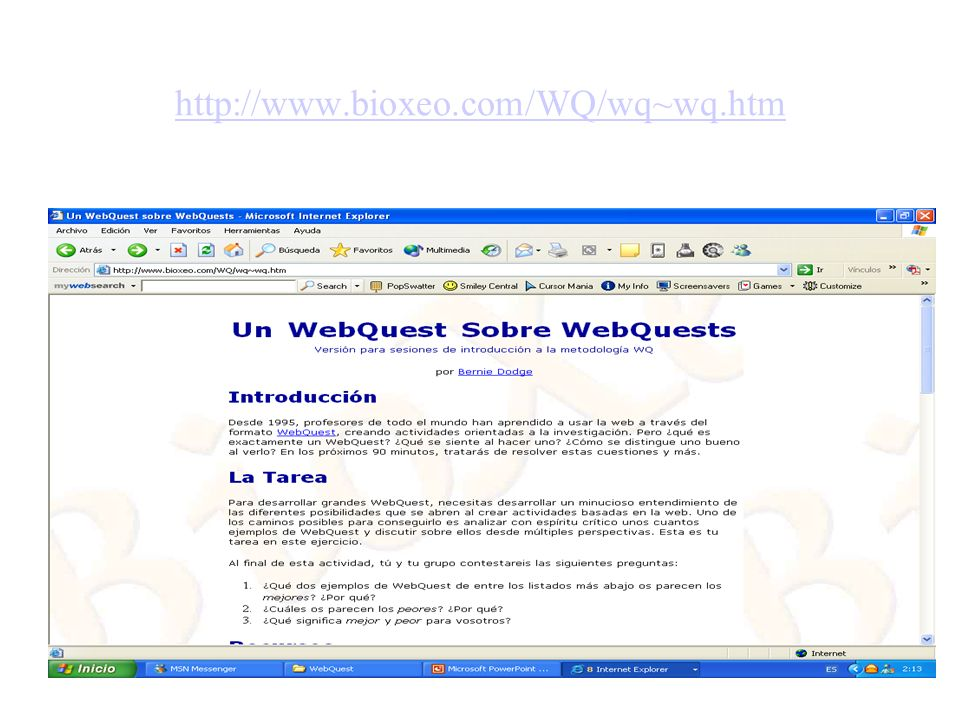 http://www.bioxeo.com/WQ/wq~wq.htm