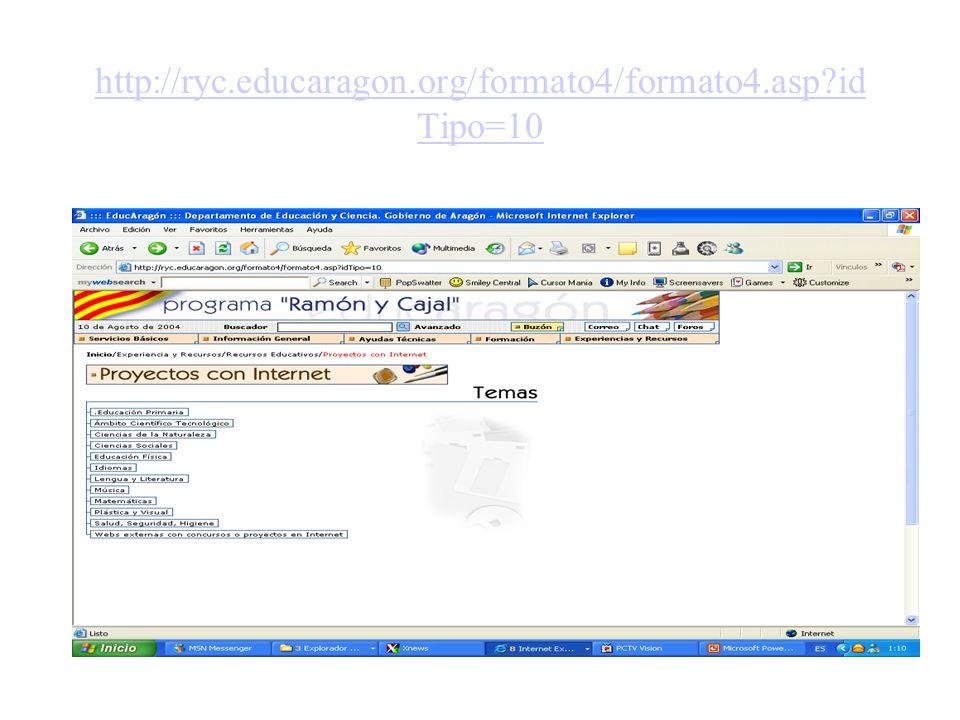 http://ryc.educaragon.org/formato4/formato4.asp?id Tipo=10